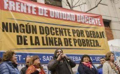 Con denuncias sobre seguridad e infraestructura, los gremios docentes presionan a Vidal