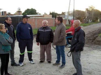 Vecinos de Ameghino denuncian que están olvidados por Arroyo y sus funcionarios