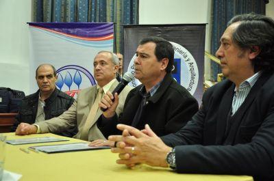 Firmaron convenio de cooperación y asistencia de aplicación de la Ley Provincial de Agroquímicos