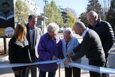 Ducoté inauguró importante arteria en Del Viso