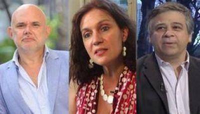 Los candidatos de Massa, Stolbizer y Donda a la Legislatura