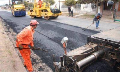 El Municipio presentará un proyecto para pavimentar 200 cuadras más en la ciudad