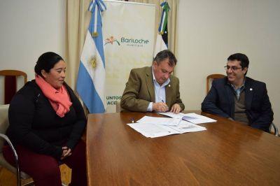 Recicladores firmaron convenio con la Municipalidad