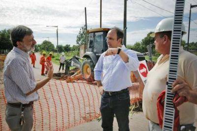 Plan Norte: Avanza la construcción del desagüe Espora