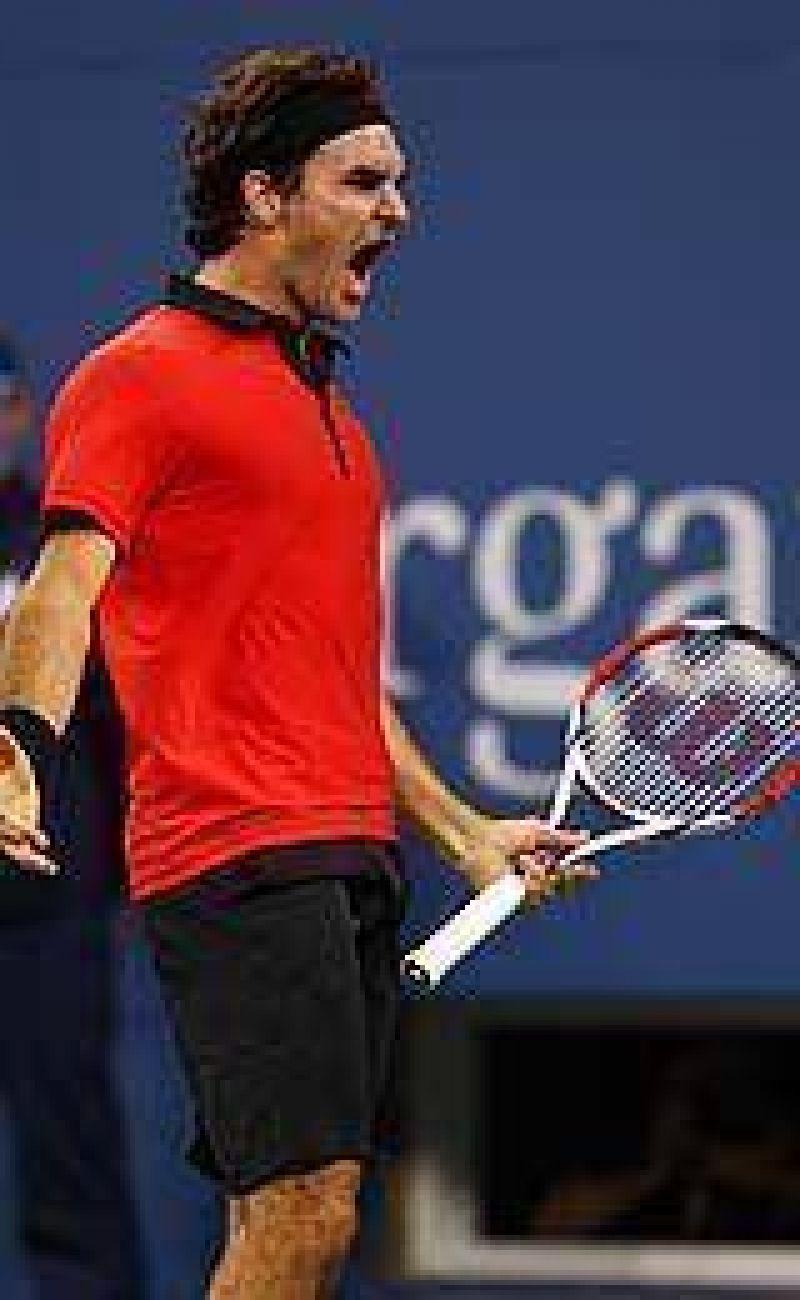 Federer superó a Djokovic y definirá el torneo con Del Potro