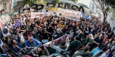 Trabajadores de prensa de todo el país marchan contra la precarización y los despidos