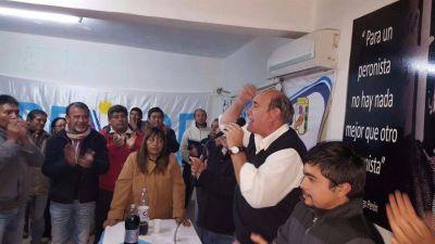 Con un acto se inauguró la Casa Peronista de Perico