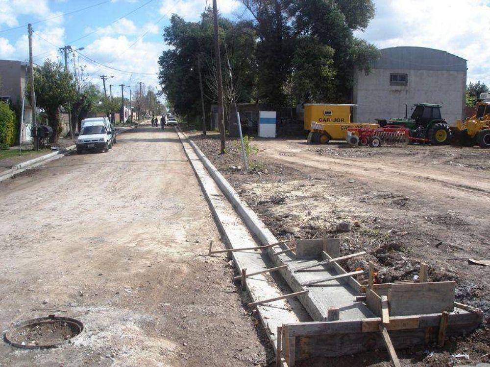 7 cuadras en la calle Piedrabuena y 5 en Padre Perna