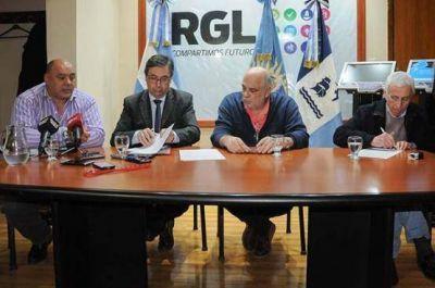 Municipio firmó convenio para reactivar el transporte público