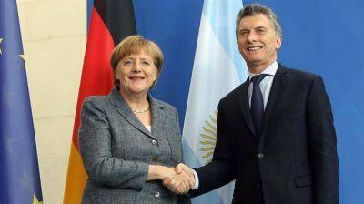 Expectativa en el Gobierno por la llegada de Merkel para potenciar el vínculo bilateral