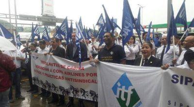 Panamá: ITF Américas se solidariza con pilotos de Copa Airlines