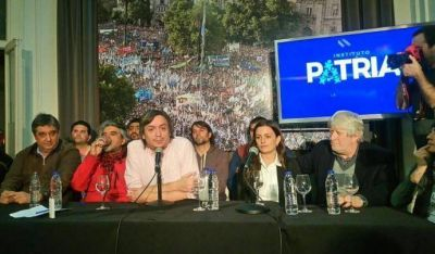 Se lanzó el Frente Sindical para la Victoria