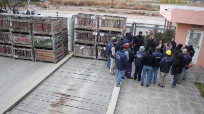 Ocuparon la planta de jugos concentrados de Centenario
