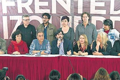 El Partido Obrero acepta candidatura de Del Caño en la provincia para evitar una interna en el FIT