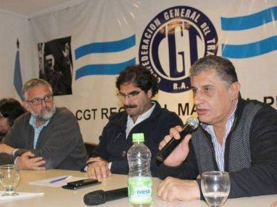 Ministros provinciales se reunieron con dirigentes en la CGT Regional Mar del Plata