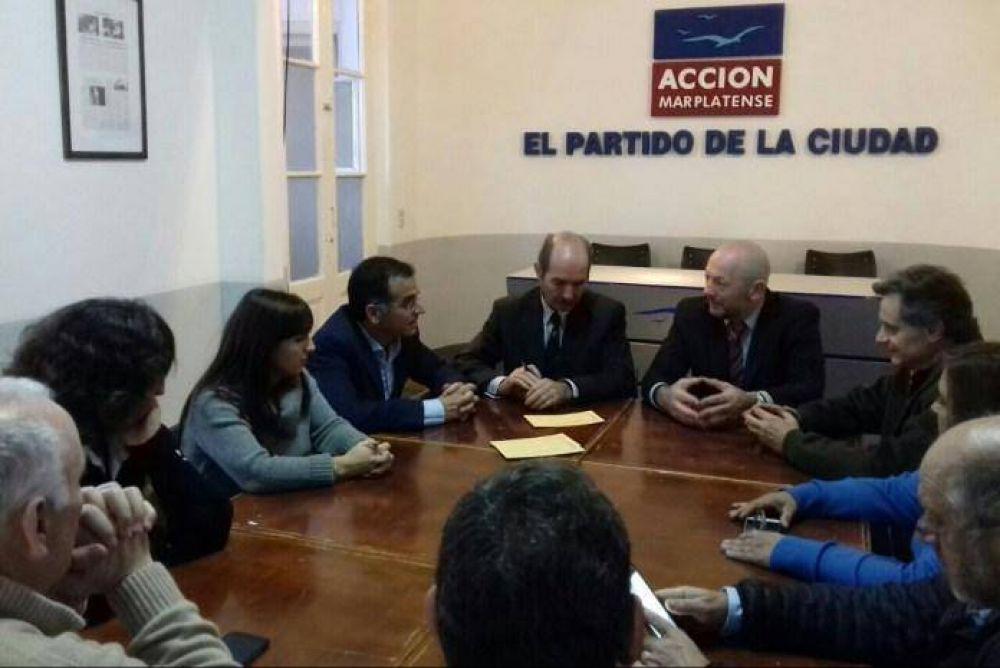Rubén Pili se incorporó a Acción Marplatense