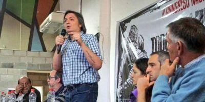 En un congreso alineado tras la candidatura de CFK, mandaron a Randazzo a formarse a una