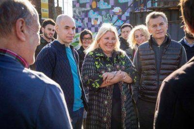 Macri y Carrió presentaron su alianza para la Ciudad: