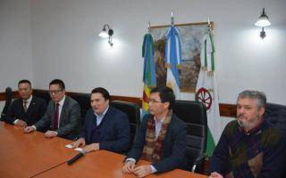 El cónsul de China visitó General Rodríguez