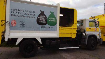 Separación de residuos en origen, un hábito poco frecuente en la ciudad