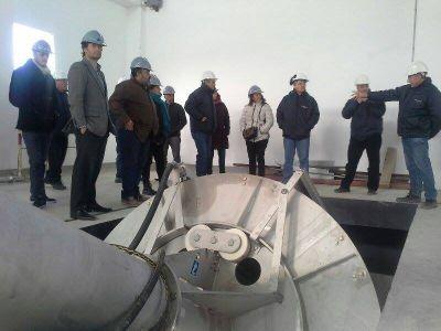 Concejales recorrieron avance de obra de la futura Estación Depuradora de Aguas Residuales