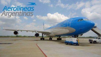 El Gobierno niega posible privatización de Aerolíneas Argentinas