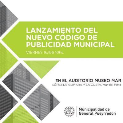 El intendente Arroyo presentará el nuevo código de publicidad municipal