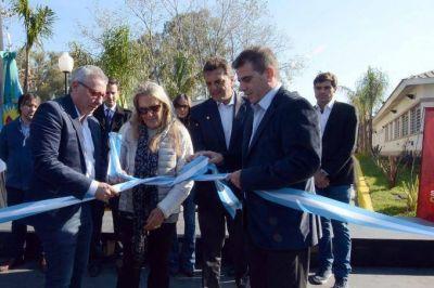 Ritondo junto a Massa y el intendente de Tigre inauguraron un nuevo edificio de la Policía Local