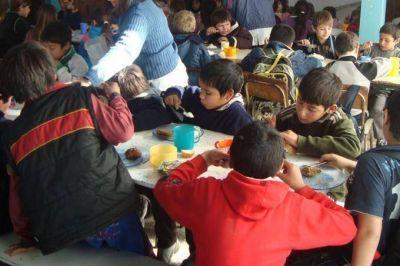 La Provincia desmintió la suspensión del servicio de comedores escolares en los días de paro