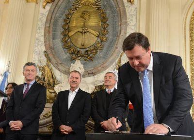 Río Negro suscribió al Acuerdo Federal Minero