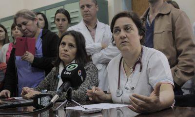 """Enojo con Salud por las guardias: """"No equipararon nada"""""""