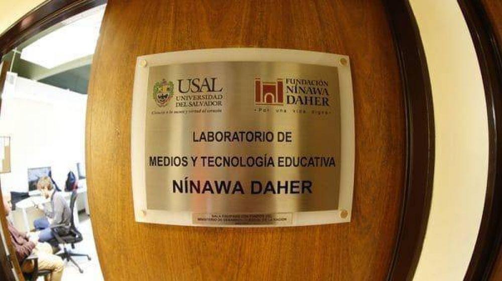 La Fundación Nínawa Daher inauguró el Laboratorio de Tecnología Educativa y Medios en la USAL