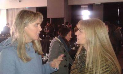 Gladys González y Sandra Santos estuvieron en la reunión del Consejo Directivo provincial del Pro