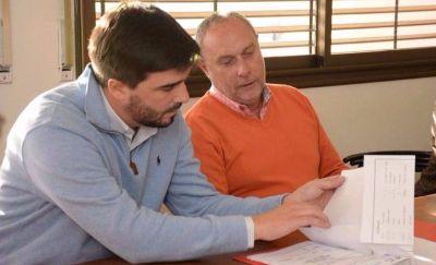 Representantes académicos presentaron a Galli un proyecto de pavimentación