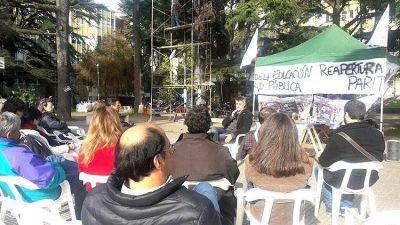 Profesores universitarios iniciaron medidas y jornadas de protestas por salarios