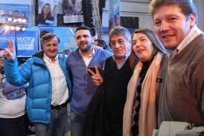 Melella, Vuoto y Martín Pérez en un mismo frente