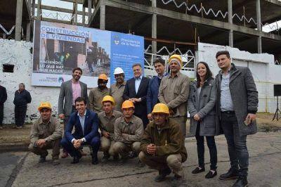 El Gobierno Nacional anunció la reactivación de obras de viviendas en Vicente López