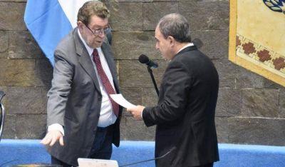 Meschini agradeció el voto unánime para su ingreso al Tribunal de Cuentas