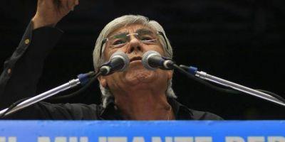 Confirmado: el partido político de Moyano será parte del frente electoral de Sergio Massa