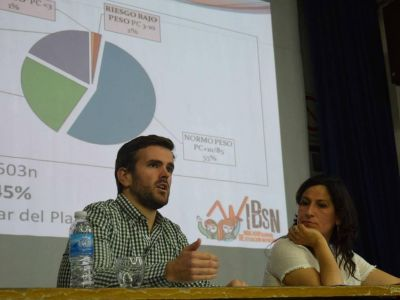 Rodrigo Blanco denunció crisis habitacional y de infraestructura en el barrio
