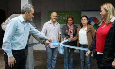 """El programa para jóvenes """"Envión"""" abrió una nueva sede"""