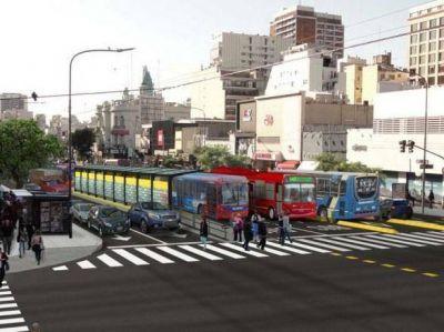 "Rechazo: Juntan firmas bajo el lema ""Mar del Plata le dice no al metrobus"""