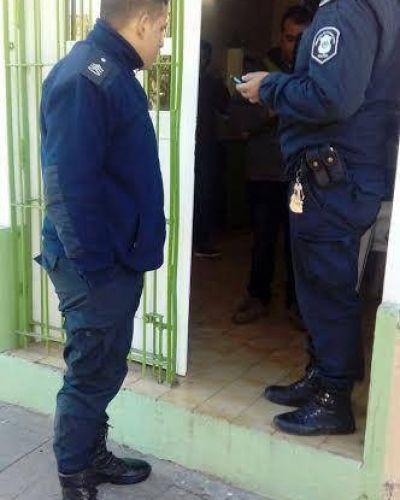 Incidente y denuncia policial en el SOEMB