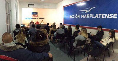 Acción Marplatense hará una charla sobre trabajo y producción local