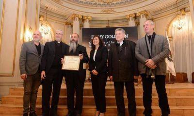 El rabino Goldman fue declarado ciudadano ilustre de Buenos Aires