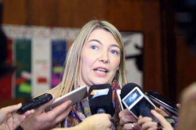 """La gobernadora Rosana Bertone viaja a los Estados Unidos con """"una expectativa positiva"""""""