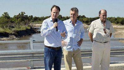 Bordet, más moderado con Macri en los actos institucionales