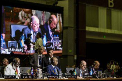 Argentina recibió el apoyo de la OEA en su reclamo de diálogo al Reino Unido sobre Malvinas