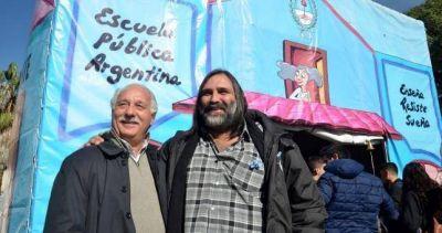 """Baradel dice que Vidal gobierna sólo para su """"núcleo duro"""""""