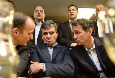 Cristina les dijo a Katopodis y Zabaleta que los espera hasta medianoche